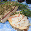 Lard with herbs, 3